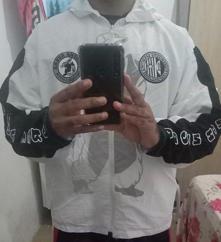 Agasalho da Mancha negra. Torcida organizada do ASA de Arapiraca Alagoas.