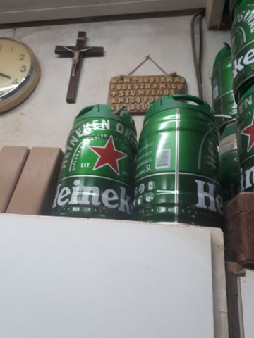 Lata de serveja vasia 5 litros. 20 unidades  - Foto 5