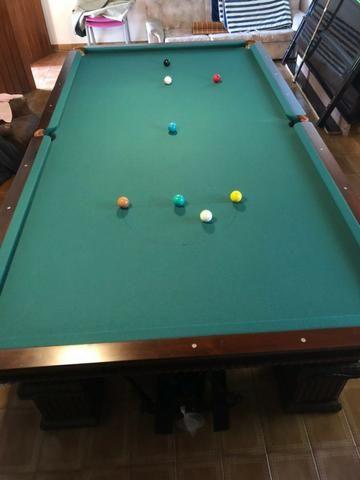 Mesa Sinuca Bilhar Snooker Profissional