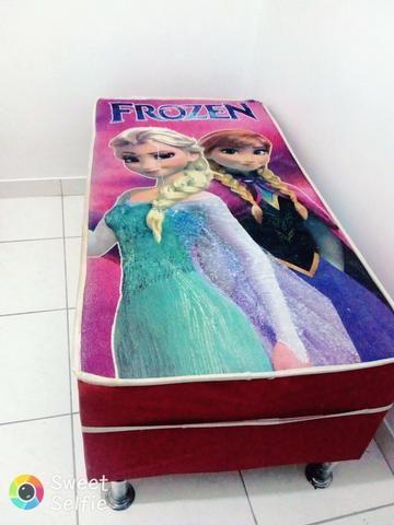 Mini cama box infantil frozen