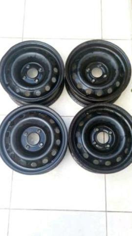 Jg de rodas de ferro Peugeot