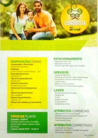 Vendo apartamento no Conquista Tarumã.128.000 mil