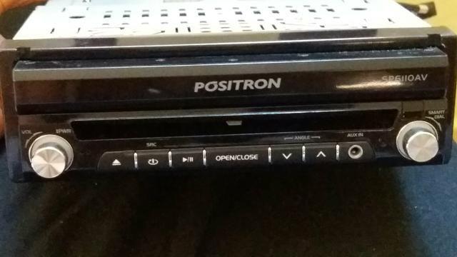 DVD automotivo Positron SP6110AV DVD/CD/MP3/WMA/USB com tela 7
