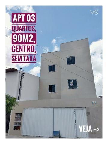 APT, 03 quartos, 90m², Centro Caucaia-CE