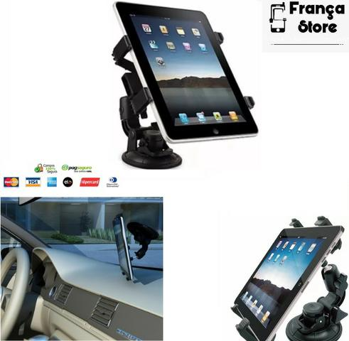 Suporte veicular para tablet e ipad com ventosa. Não perca tempo, ultimas unidades!