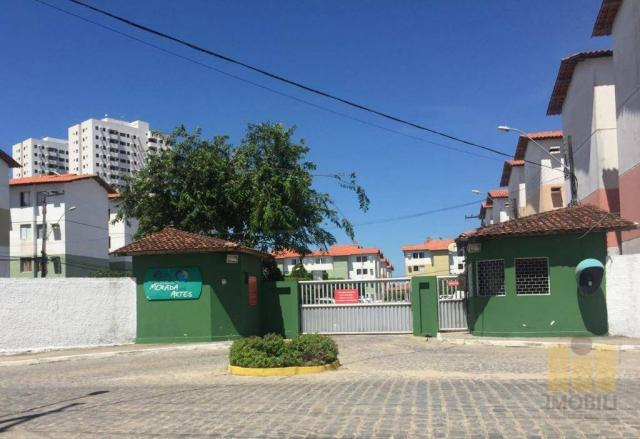 Apartamento residencial à venda, Antares, Maceió.