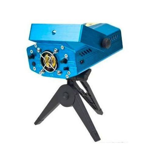 Mini Laser Stage Lighting Projetor Holografico 4 Desenhos - Foto 2