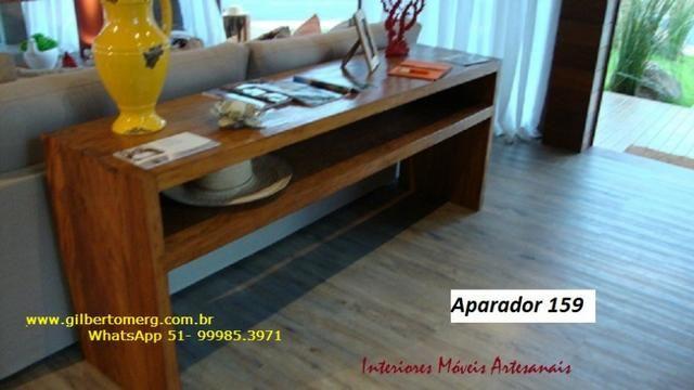 Mesas,cadeira, aparadores e racks é na Interiores móveis artesanais - Foto 3