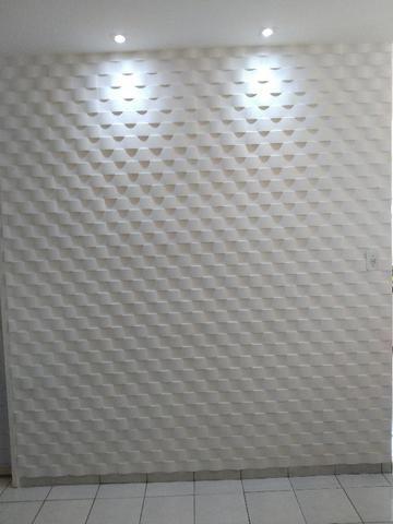 Revestimento 3D de gesso para parede