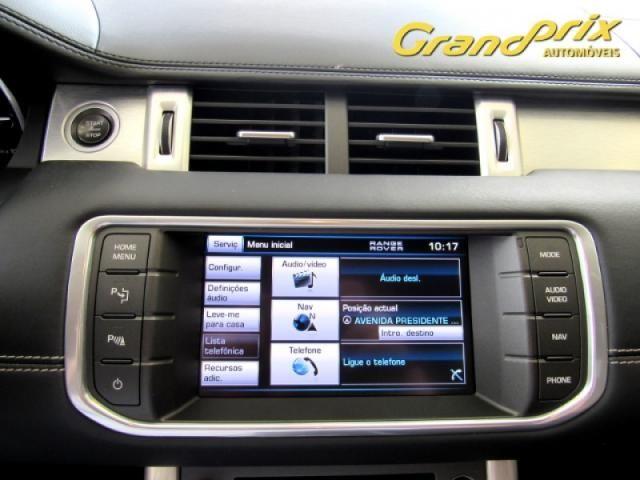 EVOQUE 2012 2.0 PRESTIGE 4WD 16V GASOLINA 4P AUTOMÁTICA PRETA COMPLETA + TETO SOLAR! - Foto 12