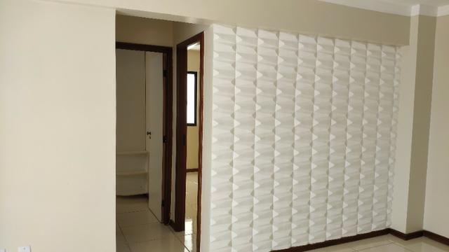 Alugo Apartamento 70 mt² 2/4 prox Av Maria Quitéria garagem coberta tx cond incluída - Foto 3