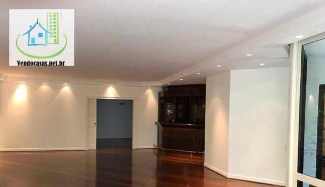 Apartamento com 5 dormitórios para alugar, 541 m² por r$ 23.000/mês - santo amaro - são pa - Foto 3