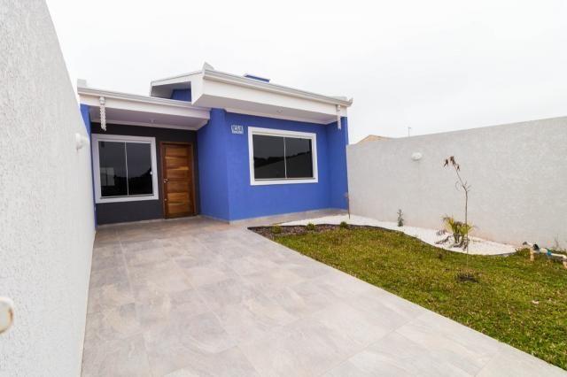 Casa à venda, 3 quartos, 1 vaga, gralha azul - fazenda rio grande/pr - Foto 2