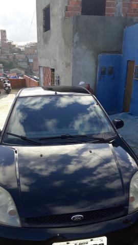 Fiesta sedan preto flex - Foto 3
