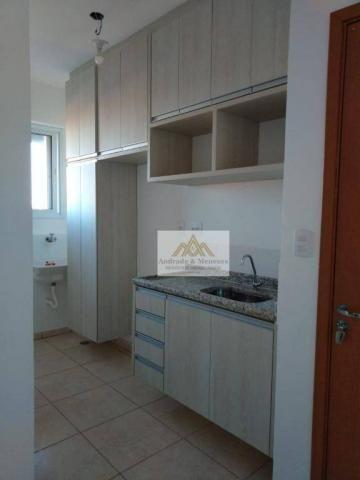 Apartamento com 2 dormitórios para alugar, 50 m² por r$ 850/mês - ipiranga - ribeirão pret - Foto 6