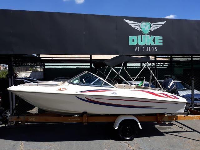 Lancha Atlantic Boat 16 Pés Motor 60Hp