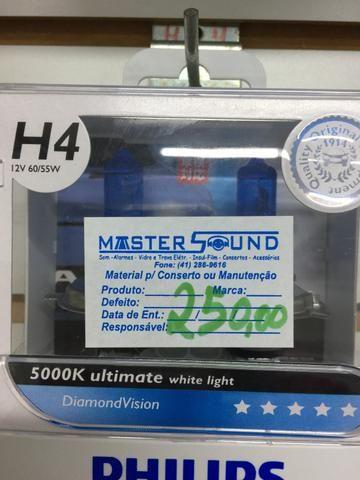 Lâmpada Philips diamod vision h4 original 5000k