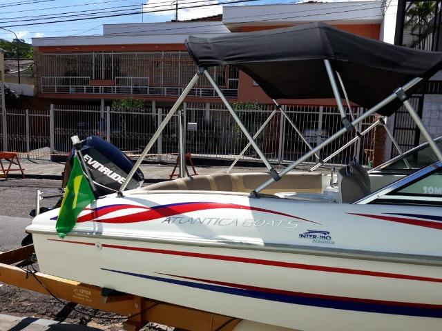 Lancha Atlantic Boat 16 Pés Motor 60Hp - Foto 15