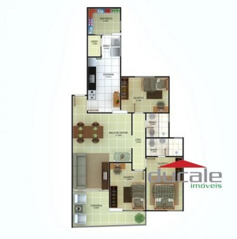 Apartamento no Blank Ville com lazer!! - Foto 4