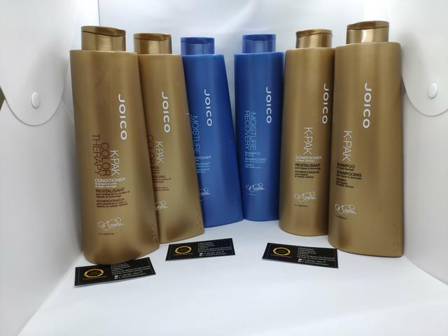 5 x R$ 59,80 Kit Shampoo e condicionador Joico 1Litro