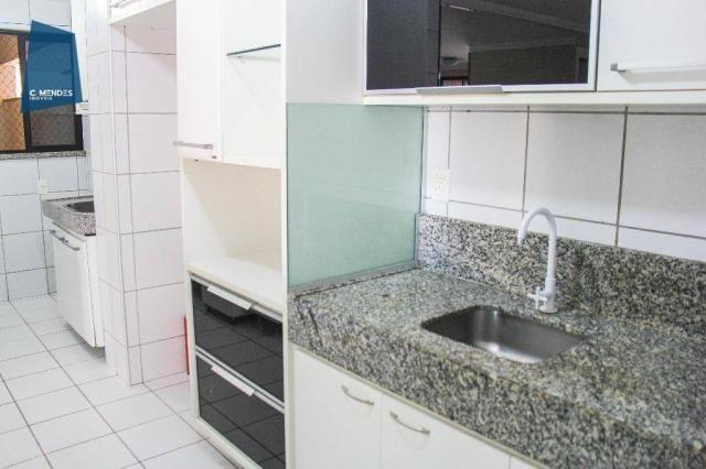 Apartamento 86 m², 3 quartos 2 suites 2 vagas, Parque del Sol, La Galateia, Parque Iracema - Foto 11