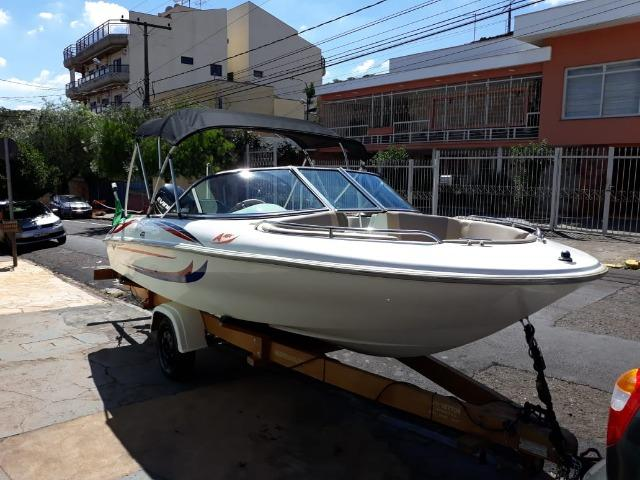 Lancha Atlantic Boat 16 Pés Motor 60Hp - Foto 2