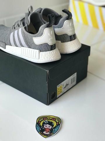 6c3b86000e6 Adidas NMD R1 Grey original e nota - Roupas e calçados - Campeche ...