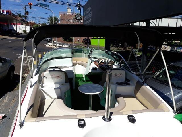 Lancha Atlantic Boat 16 Pés Motor 60Hp - Foto 12