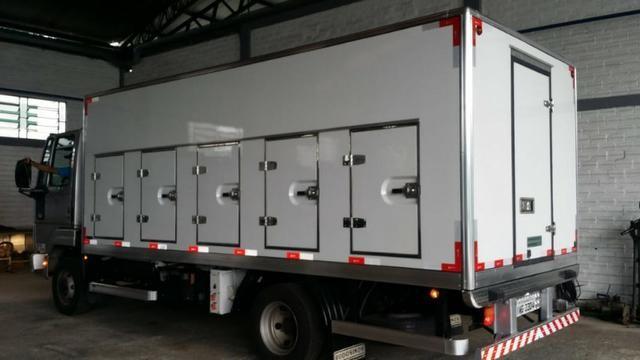 Bau Refrigerado Para Sorvete/sorveteiro -35º, Caminhão 3/4! - Foto 3