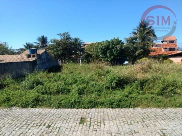 Terreno à venda, 602 m² por r$280.000,00 miguel couto - cabo frio/rj