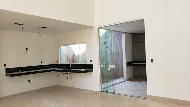 Casa Nova 3suites churrasqueira rua 5 Vicente Pires condomínio fechado - Foto 14