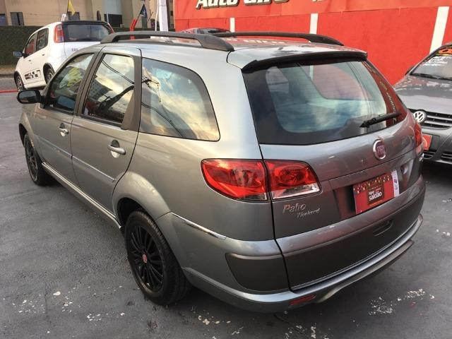Fiat Palio weekend 1.4 Completa + couro - Foto 4