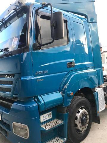 Vendo caminhões Mercedes versãos 2035 e outro iveco versão 380 truque - Foto 6