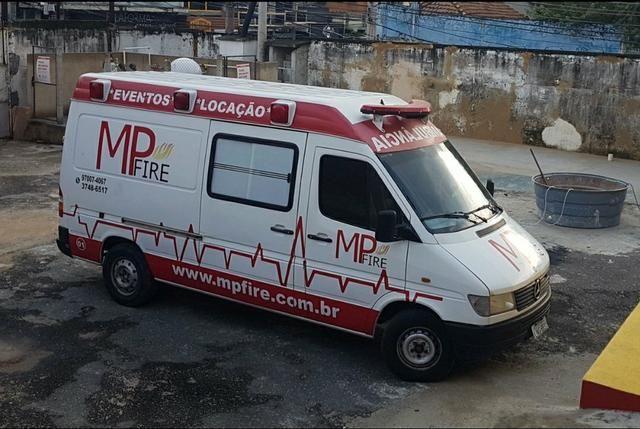 Ambulância Sprinter Básica Completa