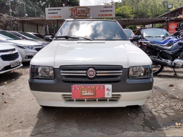 Fiat Uno 1.0 Mille Economy 8v Flex + GNV Impecável 2011 - IPVA 2020 Pago - Foto 2