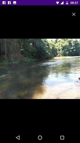 Chácara 5 alq beira rio pego carro - Foto 7