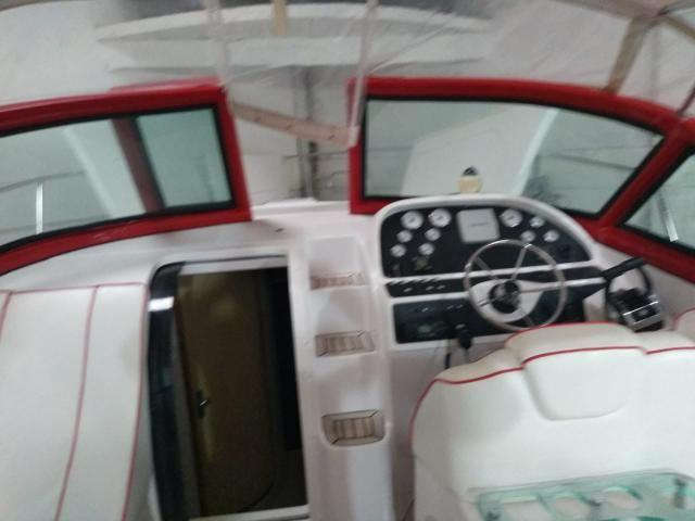 Lancha 41 pés Top Vermelha Ferrari - Foto 3