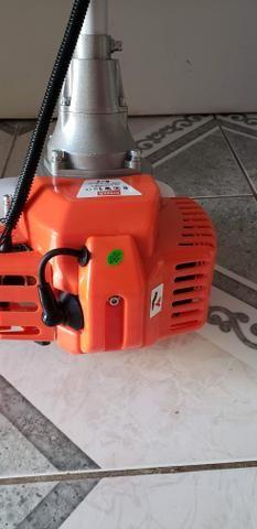 Roçadeira a Gasolina Skim 5500 Nova com nota fiscal - Foto 4
