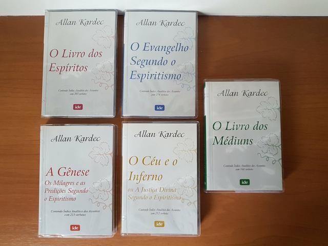 Livros de bolso - Allan Kardec