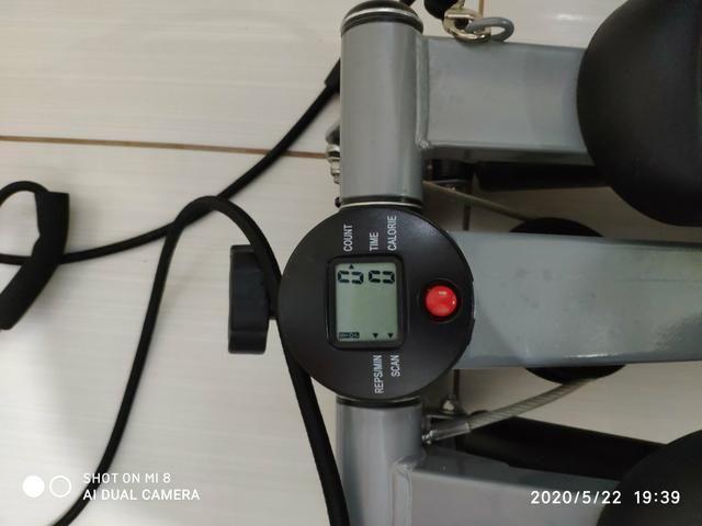 Vende-se Mini Stepper com elásticos extensores para exercícios - Foto 3
