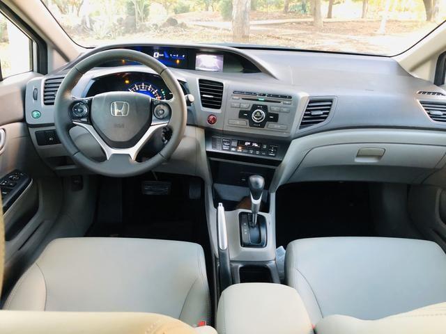 Honda Civic 1.8 LXL Automático 2013 IPVA PAGO - Foto 13