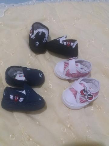 1 bolsa média maternidade (menino) 3 pares de sapatinhos - Foto 2