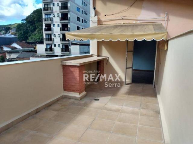 Cobertura com 2 dormitórios para alugar, 60 m² por R$ 1.200,00/mês - Vale do Paraíso - Foto 11