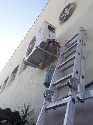 Instalação de ar condicionado e instalação de elétrica completa