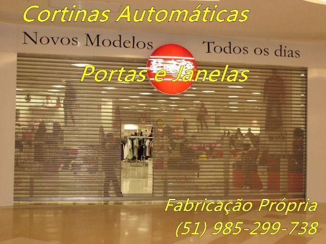 Janelas Portas e Cortinas de Enrolar Automáticas Fábrica em Porto Alegre - Foto 3