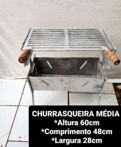 Churrasqueira desmontável a partir de 100 reais  - Foto 3