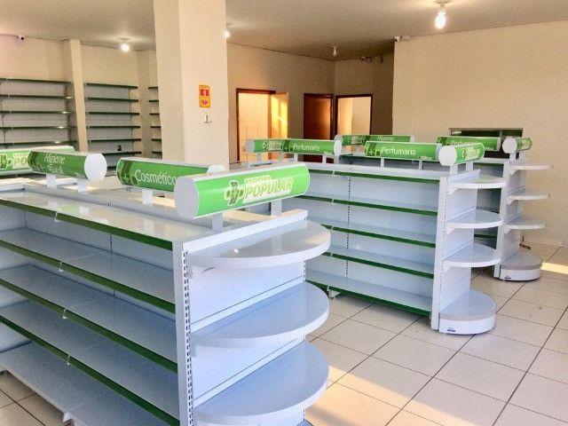 Prateleira pra Farmácia / Gondôlas - Foto 4