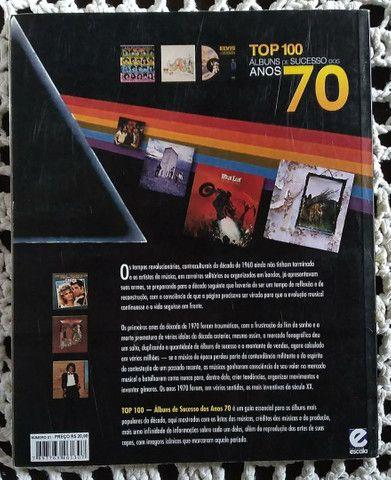 Livro TOP 100 Albuns de Sucesso dos Anos 70 - Foto 2