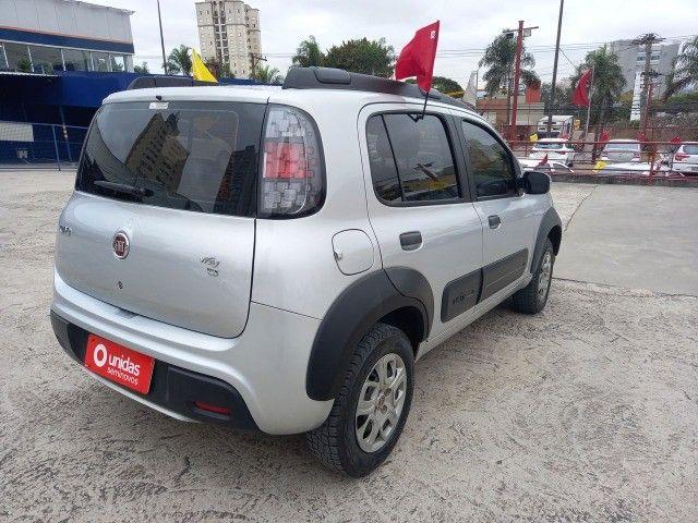 2005. Fiat Uno Way 1.3 Completo 2021 - 42.000 km - Abaixo da Fipe - Foto 6