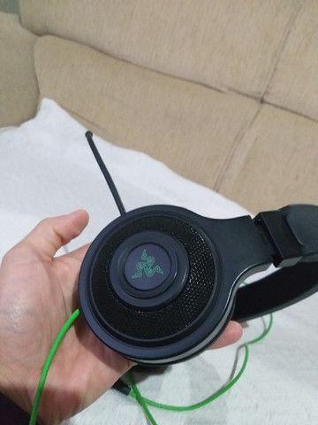 Headset Gamer Razer Kraken Essential Usado - Foto 3